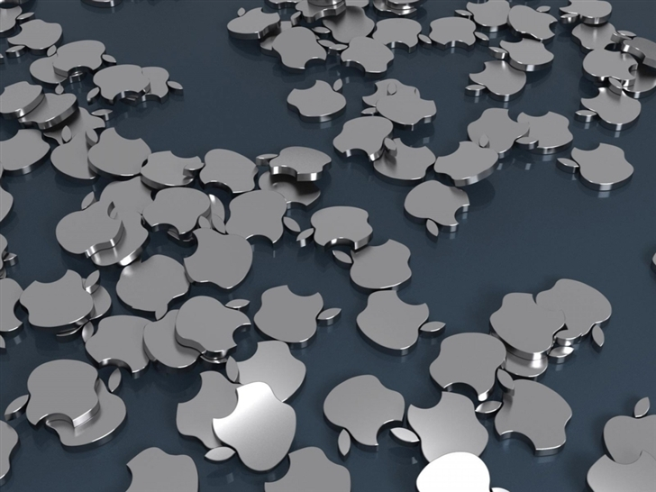 Apple Badges Mac Wallpaper