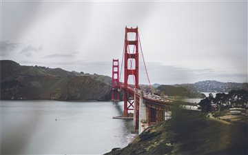 Golden Gate Bridge Mac wallpaper