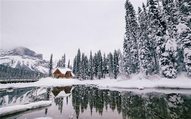 Emerald Lake, Columbia-Sh... Mac Wallpaper