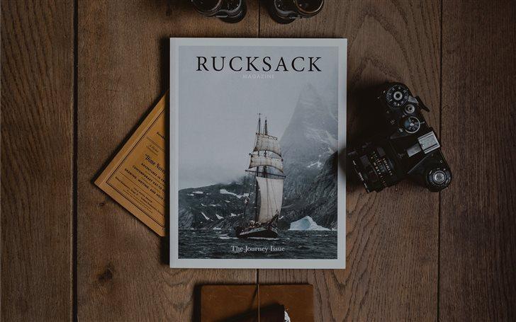 Rucksack book Mac Wallpaper