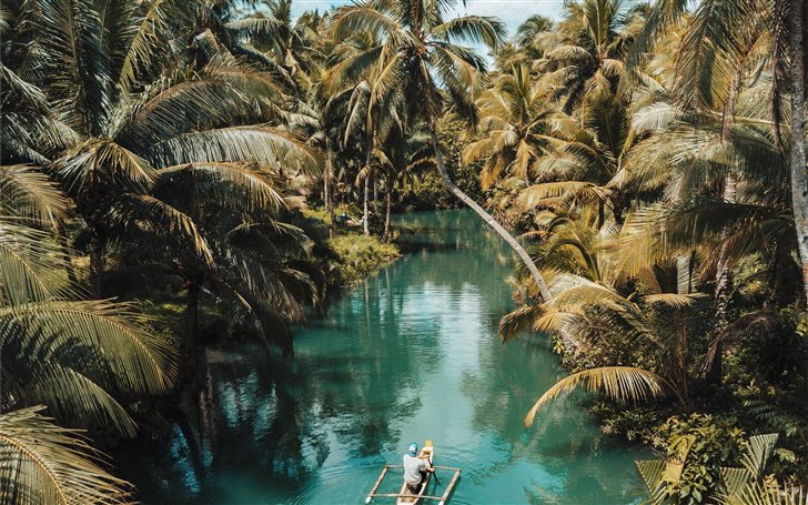 Siargao island, Philippin... Mac Wallpaper