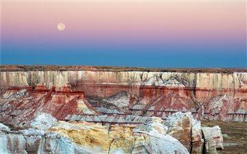 Canyon Sunrise Mac wallpaper