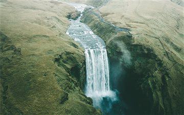 Skogafoss, Iceland All Mac wallpaper