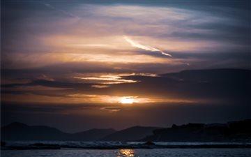 Sunset love Mac wallpaper