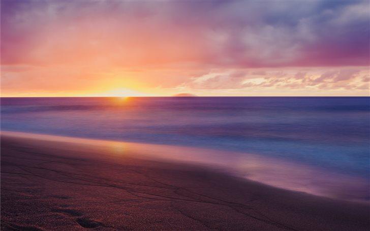 Colorful sunset Mac Wallpaper