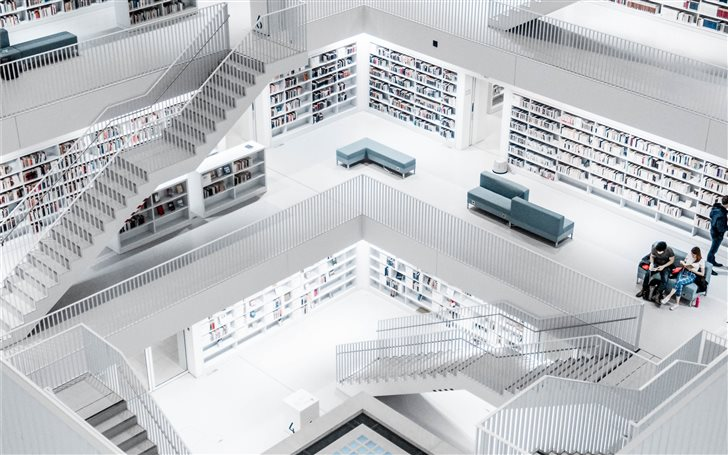 Stuttgart Library Mac Wallpaper