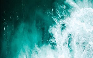 Blue wash All Mac wallpaper
