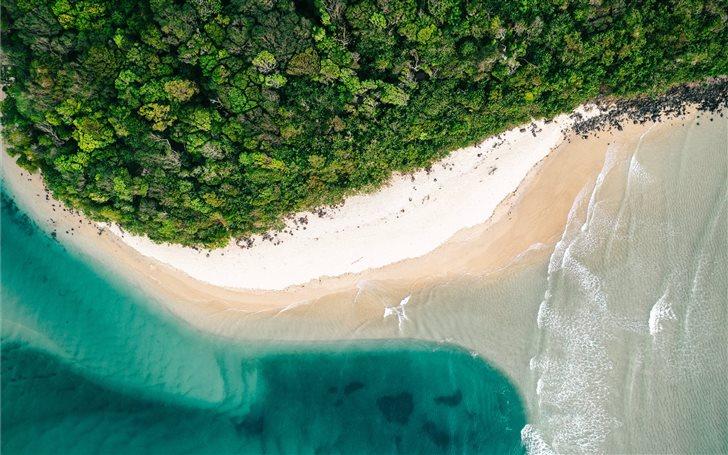 Secret beach Mac Wallpaper