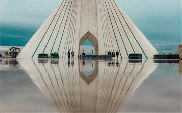 Azadi Tower, Tehran, Iran Mac wallpaper