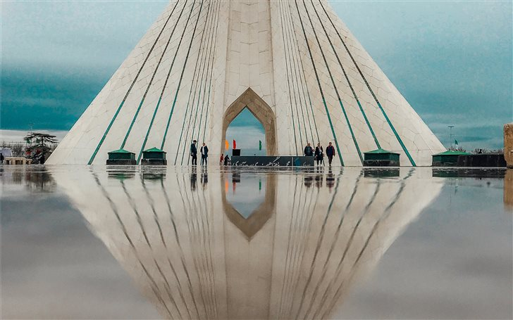 Azadi Tower, Tehran, Iran Mac Wallpaper
