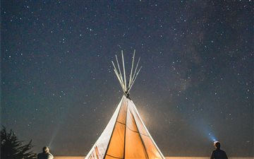 Tipi Camping, Pescadero, ... All Mac wallpaper