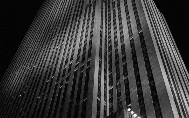 The Rockefeller Center in... Mac Wallpaper
