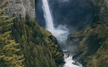 Helmcken Falls, Canada Mac wallpaper