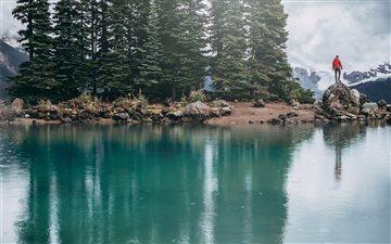 Garibaldi Lake, Canada Mac wallpaper