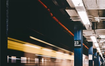 23rd Street, New York, Un... Mac wallpaper