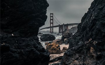 GOLDEN GATE BRIDGE, san f... Mac wallpaper