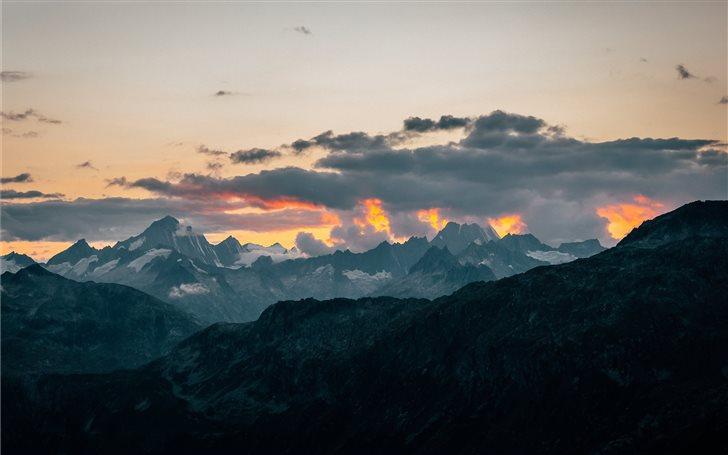 Furka Pass, Switzerland Mac Wallpaper