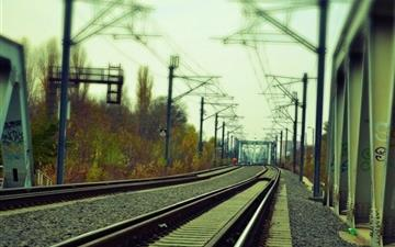 Railway Rail Mac wallpaper