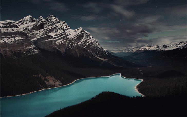 Peyto Lake, Banff, Canada Mac Wallpaper