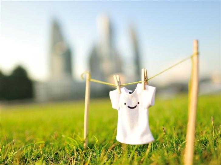 Summer Sunshine Grass Shirts Smiley Face Mac Wallpaper