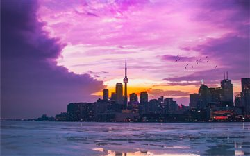 Polson Pier, Toronto, Can... All Mac wallpaper