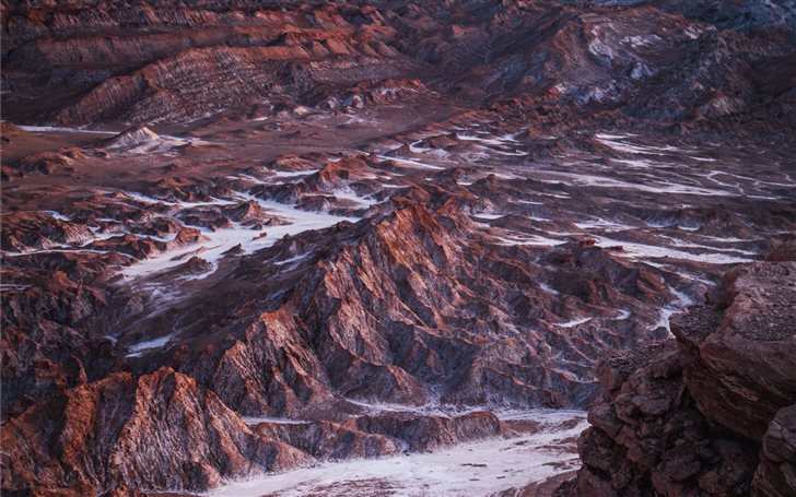 Chile's Valle de la Luna ... Mac Wallpaper