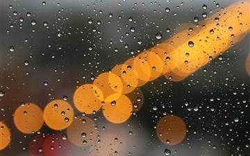 Light Rainwater Night Mac wallpaper