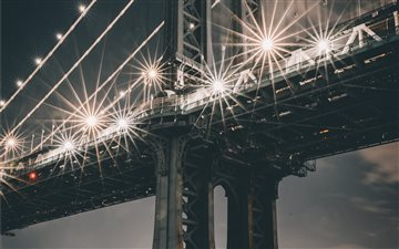 Manhattan Bridge, New Yor... Mac wallpaper