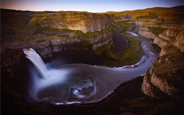 Palouse Falls Dawn. Palou... All Mac wallpaper