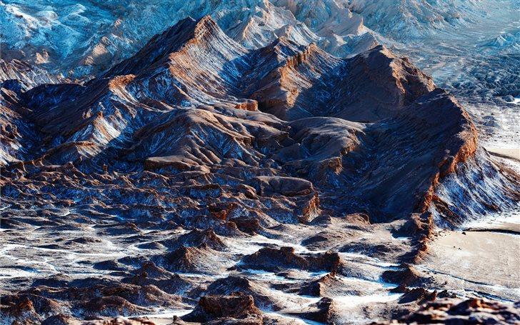 valle de la luna, Chile Mac Wallpaper