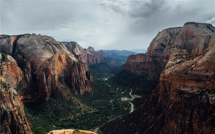 Angels landing Mac Wallpaper