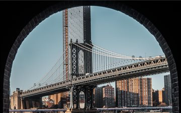 Manhattan Bridge, New Yor... Mac wallpaper