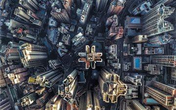 Goldwin Heights, Hong Kon... Mac wallpaper