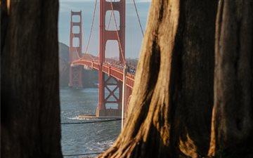 Golden Gate, San Francisc... Mac wallpaper