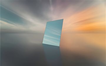 PORTAL     Sunset ove... Mac wallpaper