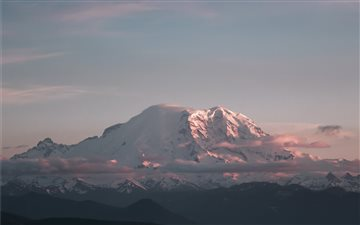 Mount Rainier National Pa... Mac wallpaper
