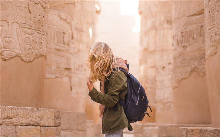 Karnak, Egypt Mac Wallpaper