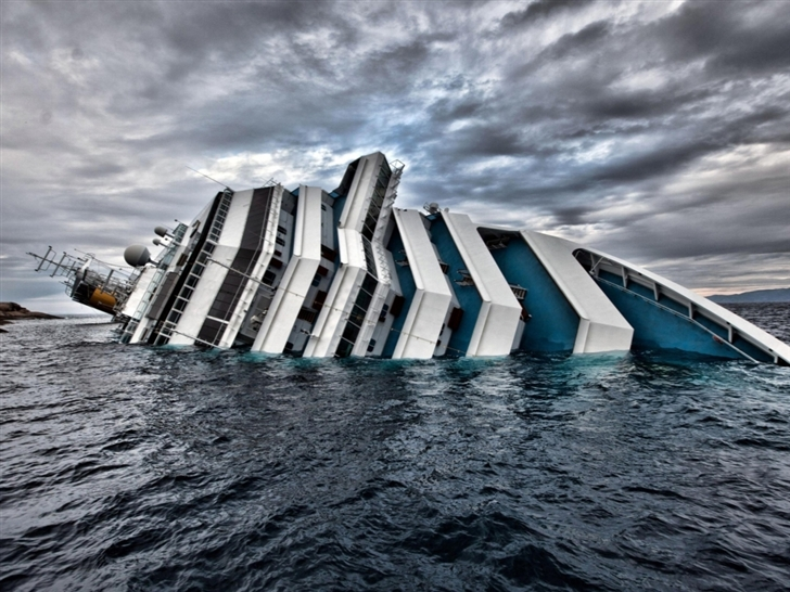Costa Concordia Cruise liner Sunk Mac Wallpaper