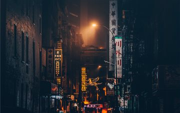 Chinatown, New York, Unit... Mac wallpaper
