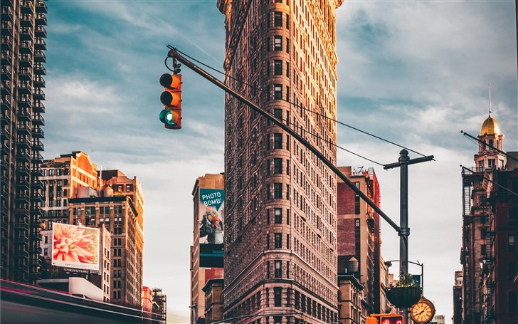 Flatiron Building, New Yo... Mac Wallpaper