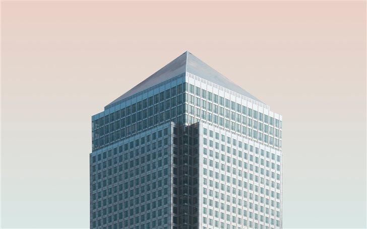 Canary Wharf, London, Uni... Mac Wallpaper
