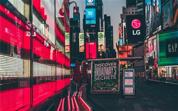 Times Square, New York, U... All Mac wallpaper