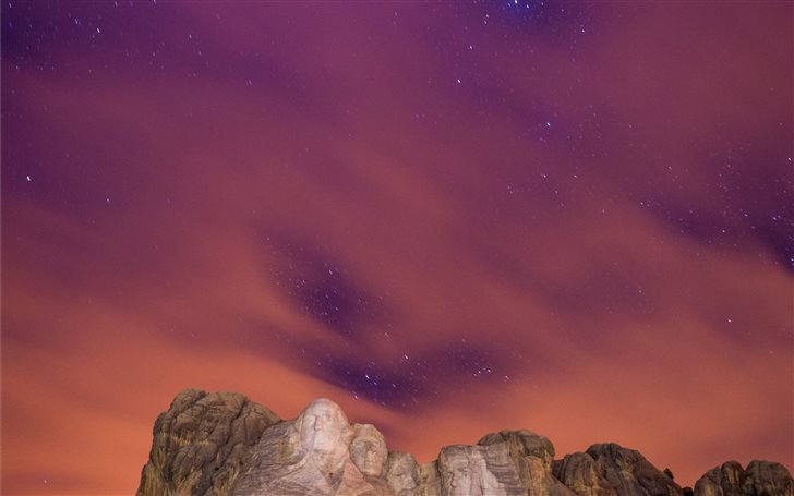 The Stars peak through th... Mac Wallpaper