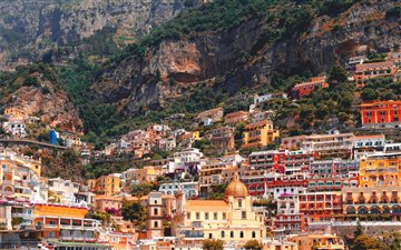 Positano, Italy Mac wallpaper