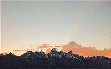 Teton National Park Mac wallpaper