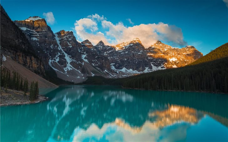 Moraine Lake has been som... Mac Wallpaper