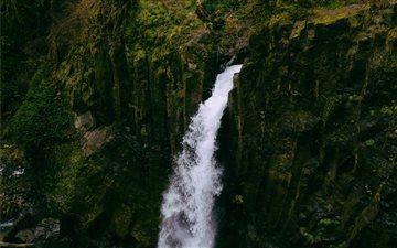 Drift Creek Falls, Lincol... Mac wallpaper