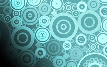 Circle pattern background Mac wallpaper