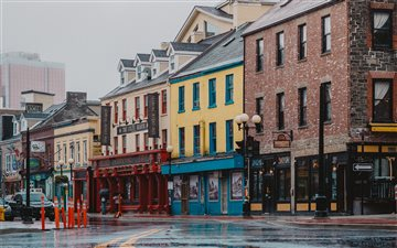 Water Street, St. John's,... Mac wallpaper