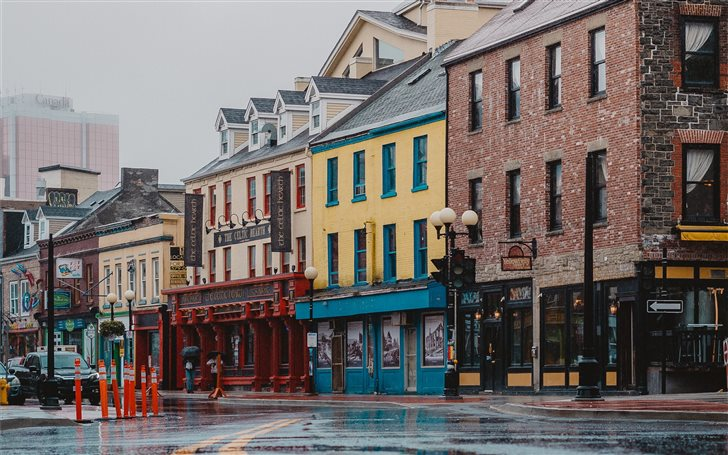 Water Street, St. John's,... Mac Wallpaper